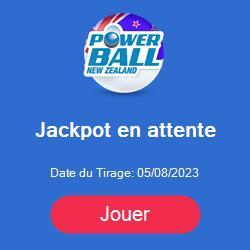 prochain tirage du loto powerball de Nouvelle Zelande