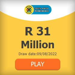 Play South Africa Powerball online from anywhere in the world.
