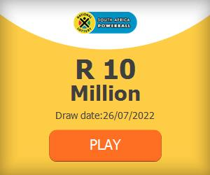 Buy South Africa Powerball Tickets