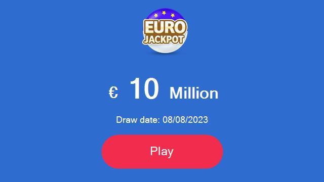 spille Eurojackpot online