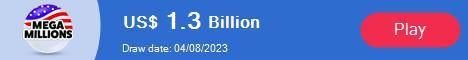 U.S. MegaMillions lottery current jackpot
